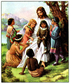 Jesus with childern